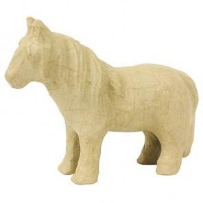 Пони малая Фигурка из папье-маше объемная Decopatch