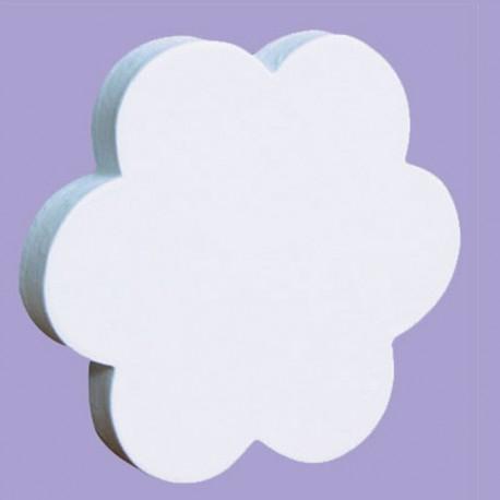 Цветок Фигурка из картона белая