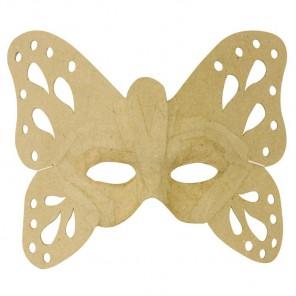 Бабочка Маска для декорирования из папье-маше объемная Decopatch