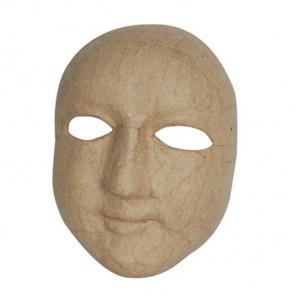 Полное лицо Маска для декорирования из папье-маше объемная Decopatch