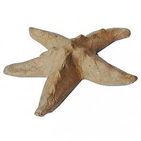 Морская звезда 10x2x10 Фигурка из папье-маше объемная
