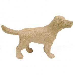 Собака мини Фигурка из папье-маше объемная Decopatch