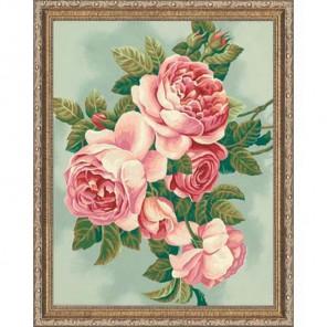 Розы 91299 Раскраска по номерам акриловыми красками Dimensions