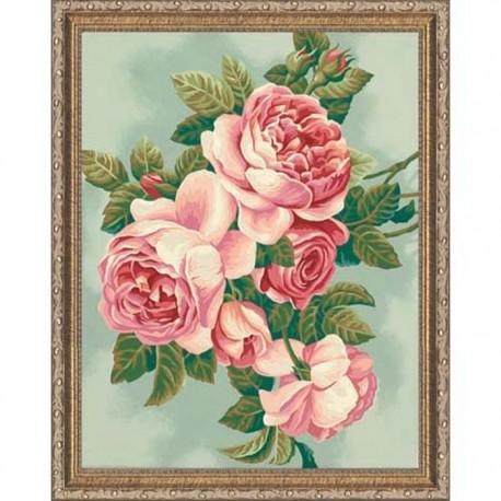 * Розы 91299 Раскраска по номерам Dimensions