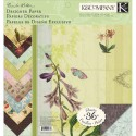 Флора и фауна Brenda Walton 31х31см Набор бумаги для скрапбукинга, кардмейкинга K&Company