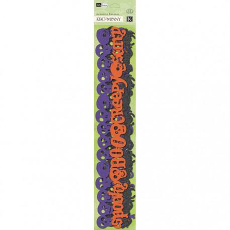 Осенний Хэллоуин Ленты бумажные для скрапбукинга, кардмейкинга K&Company