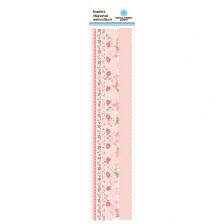 Бордюры Винтажная девушка Ленты бумажные для скрапбукинга, кардмейкинга  Martha Stewart Марта Стюарт