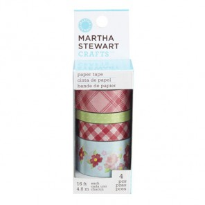 Винтажная девушка Набор бумажных лент для скрапбукинга, кардмейкинга  Martha Stewart Марта Стюарт