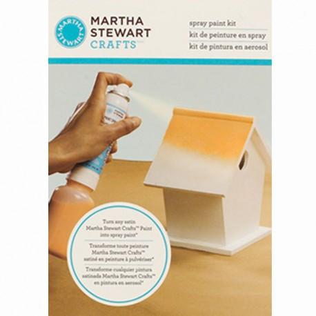 Для распыления краски Набор с аэрозолью Сатин 32242 Марта Стюарт Martha Stewart