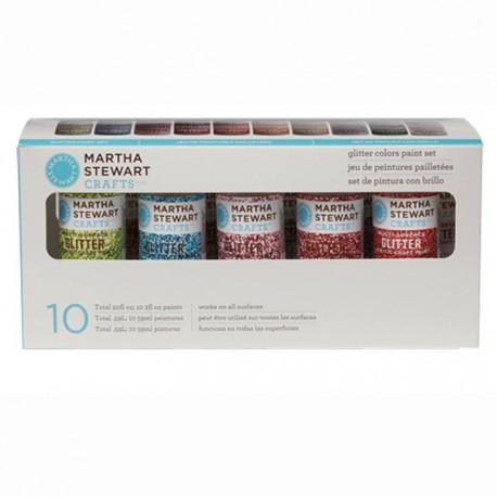 Блеск Набор акриловых красок для любых поверхностей Марта Стюарт Martha Stewart