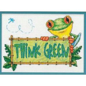 Зеленый защитник Набор для вышивания Dimensions ( Дименшенс )