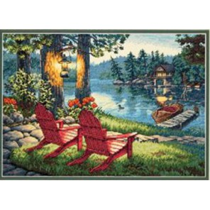 Спокойствие сумерек 70-35261 Набор для вышивания Dimensions ( Дименшенс )