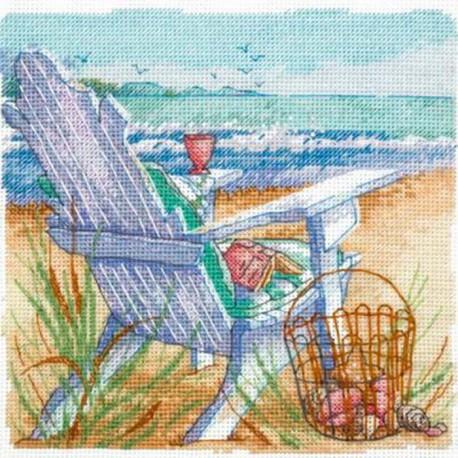 Морской пейзаж 70-65102  Набор для вышивания Dimensions ( Дименшенс )