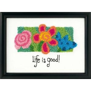 Жизнь прекрасна! 73091 Набор для вышивания Dimensions ( Дименшенс )