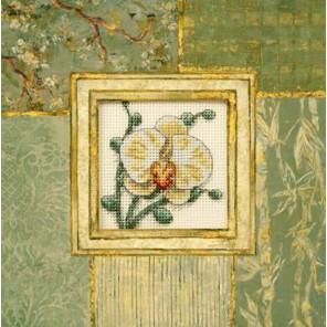 Белая орхидея 73109 Набор для вышивания Dimensions ( Дименшенс )