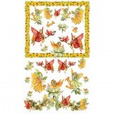 Девушки Феи цветов 2  524 Рисовая декупажная карта Ferrario