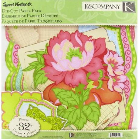 Сладкий нектар Кардсток и украшения для скрапбукинга, кардмейкинга K&Company