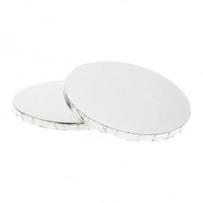 Серебристая круглая подставка для торта 30,5см Wilton ( Вилтон )