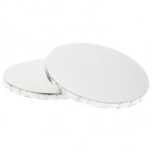Серебристая круглая подставка для торта 40,6см Wilton ( Вилтон )