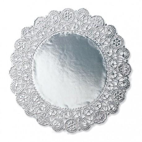 Серебро Салфетки 20,3см под торт Wilton ( Вилтон )