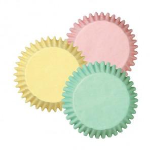 Пастель Набор бумажных мини форм для кексов Wilton ( Вилтон )