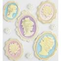 Камея и жемчуг Украшения для скрапбукинга, кардмейкинга Марта Стюарт Martha Stewart