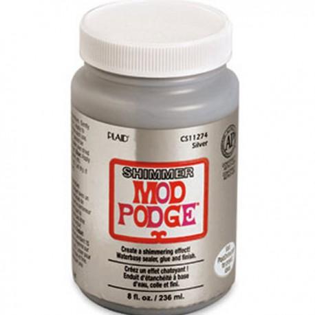 """Клей для декупажа Mod Podge """"Серебряное мерцание"""" PLD- CS 11274"""