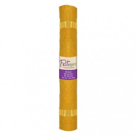 Желтый Рулон фетра Dimensions