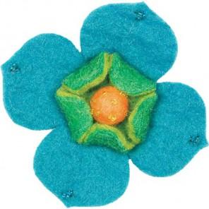 Цветок кизила Декоративное украшение из войлока Dimensions
