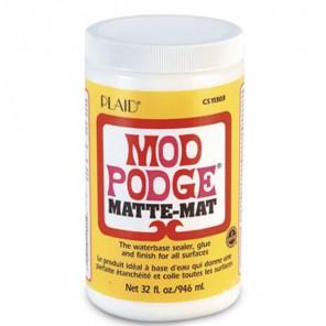 Матовый Клей лак для декупажа 11303 Mod Podge Plaid