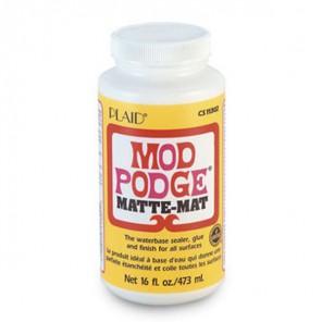 Матовый Клей лак для декупажа 11302 Mod Podge Plaid