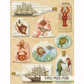Морские путешествия Стикеры для скрапбукинга, кардмейкинга K&Company