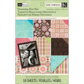 Цветение Kelly Panacci Подложки Набор бумаги для скрапбукинга, кардмейкинга K&Company