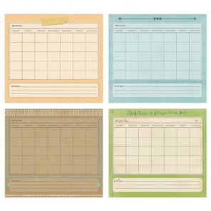 Календарь Набор кармашков Smash ( Смэш ) для скрапбукинга K&Company