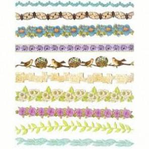 Мир растений Ленты бумажные для скрапбукинга, кардмейкинга K&Company