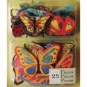 Весенние бабочки Стикеры для скрапбукинга, кардмейкинга K&Company