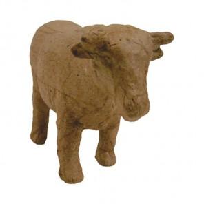 Корова мини Фигурка из папье-маше объемная Decopatch