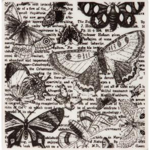 Бабочки Штамп резиновый для скрапбукинга, кардмейкинга Docrafts