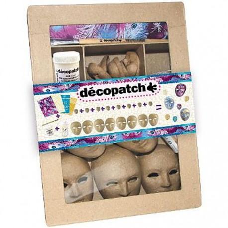 Мини-Маски Набор для декопатча Decopatch