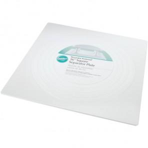 Квадрат 40,6см Тарелка пластиковая для коржей Wilton ( Вилтон )