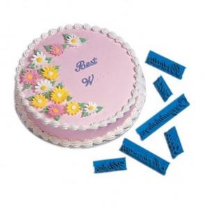 Пожелания Штампы кондитерские Набор для украшения тортов Wilton ( Вилтон )