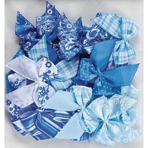 Burleigh Blue Бантики Украшения для скрапбукинга, кардмейкинга Docrafts