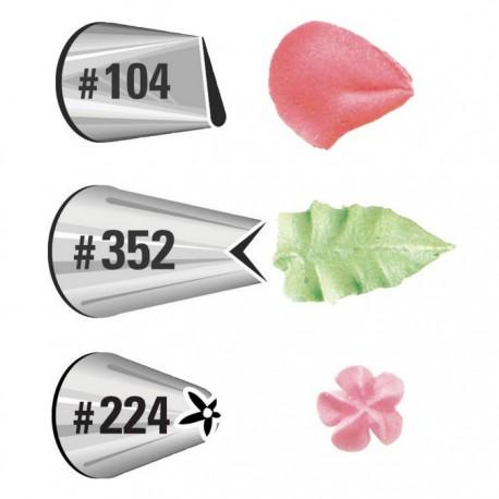 Как сделать кондитерский гвоздь для роз своими руками