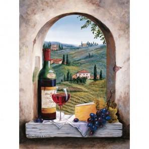 Тосканский вид Раскраска картина по номерам акриловыми красками Dimensions