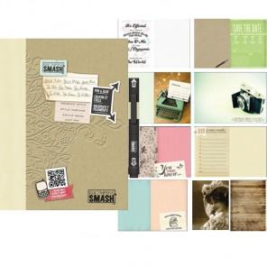 Свадьба Смэшбук блокнот книжка для скрапбукинга Wedding Smash K&Company