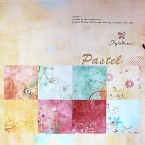 Пастель Набор бумаги 30x30 для скрапбукинга, кардмейкинга