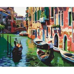 Венеция Раскраска по номерам акриловыми красками на холсте Iteso