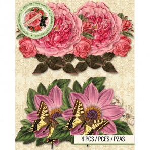 Цветы Украшения для скрапбукинга, кардмейкинга K&Company