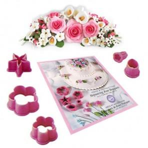 Букет роз Набор кондитерских фигурных резаков Wilton ( Вилтон )
