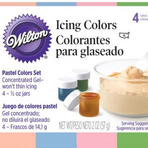 Пастельные цвета Набор красителей для Айсинга по 14г Wilton ( Вилтон )